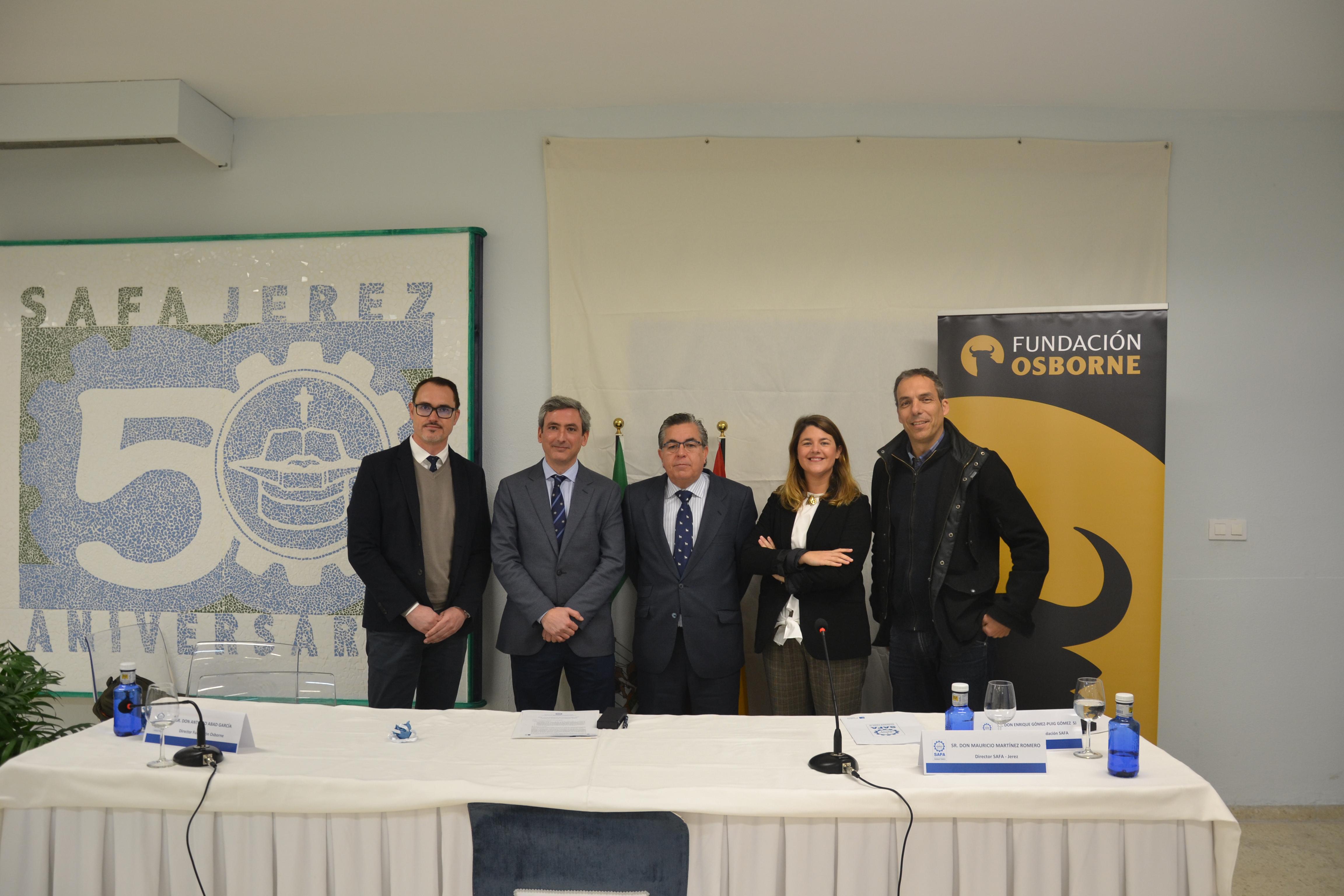 Firma del Convenio entre SAFA y FUNDACION OSBORNE