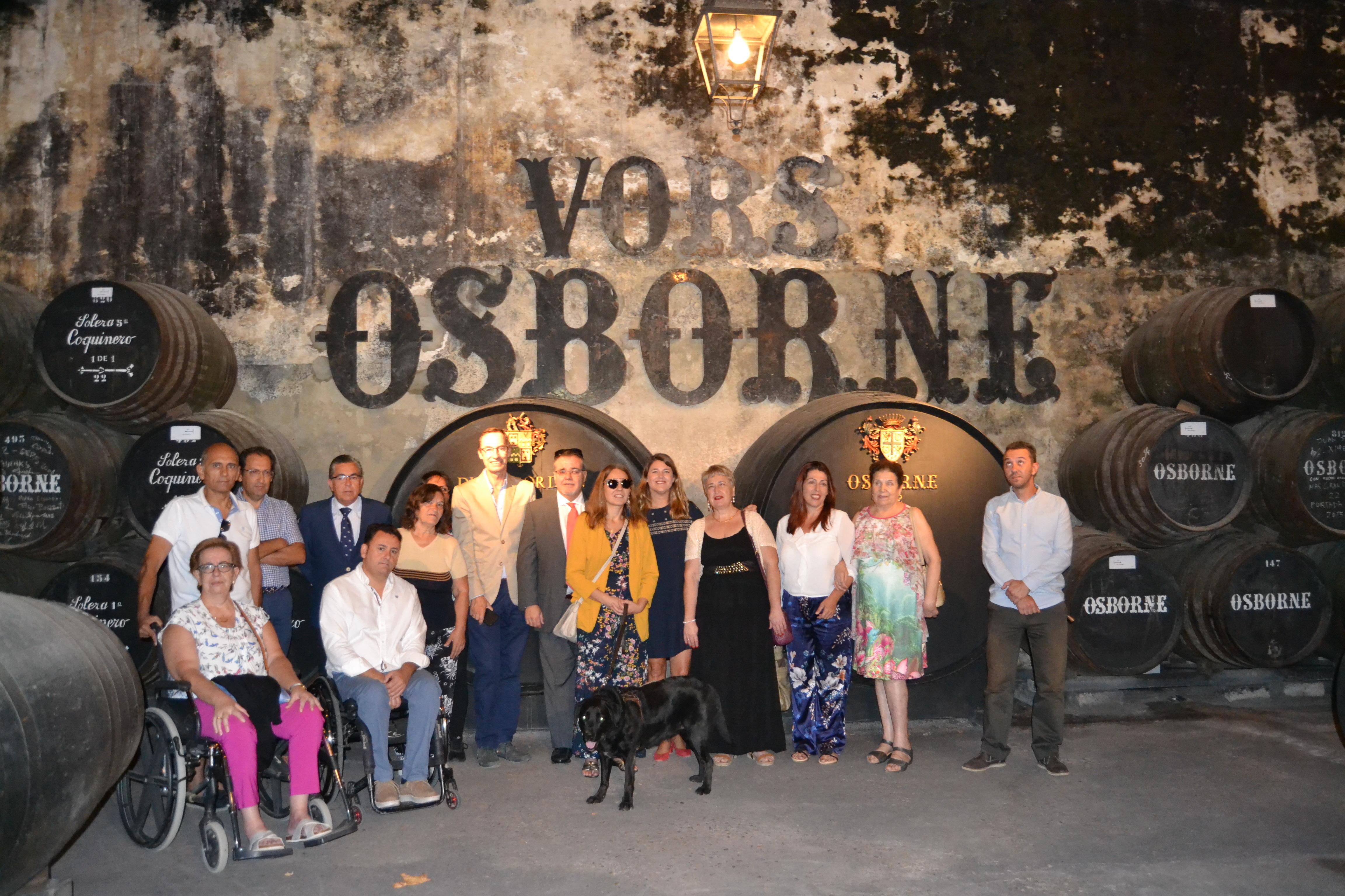 Inauguración visitas accesibles_Bodega de Mora, El Puerto