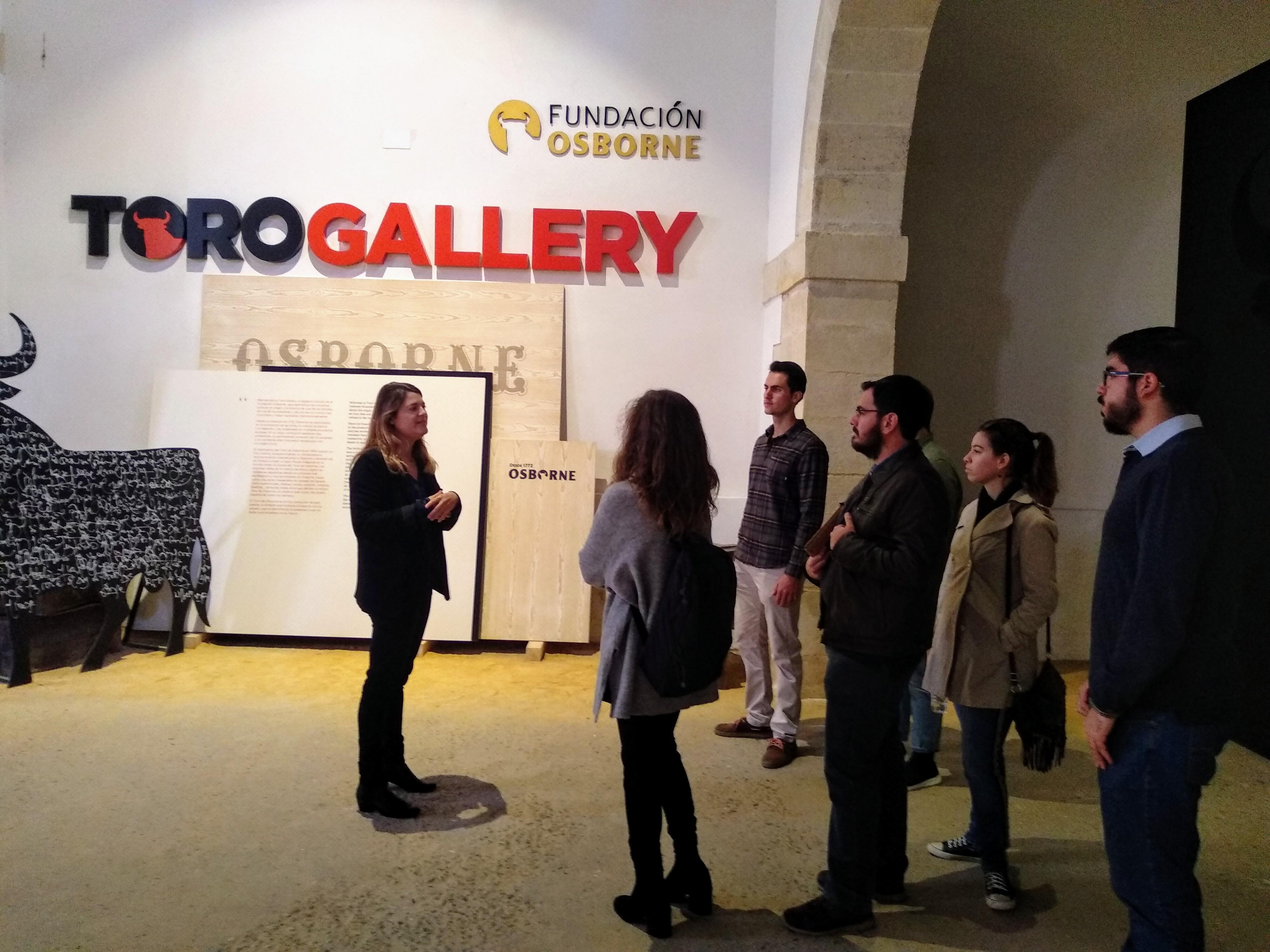 Visita de inicio proyecto ToroLab a Bodegas Osborne en El Puerto