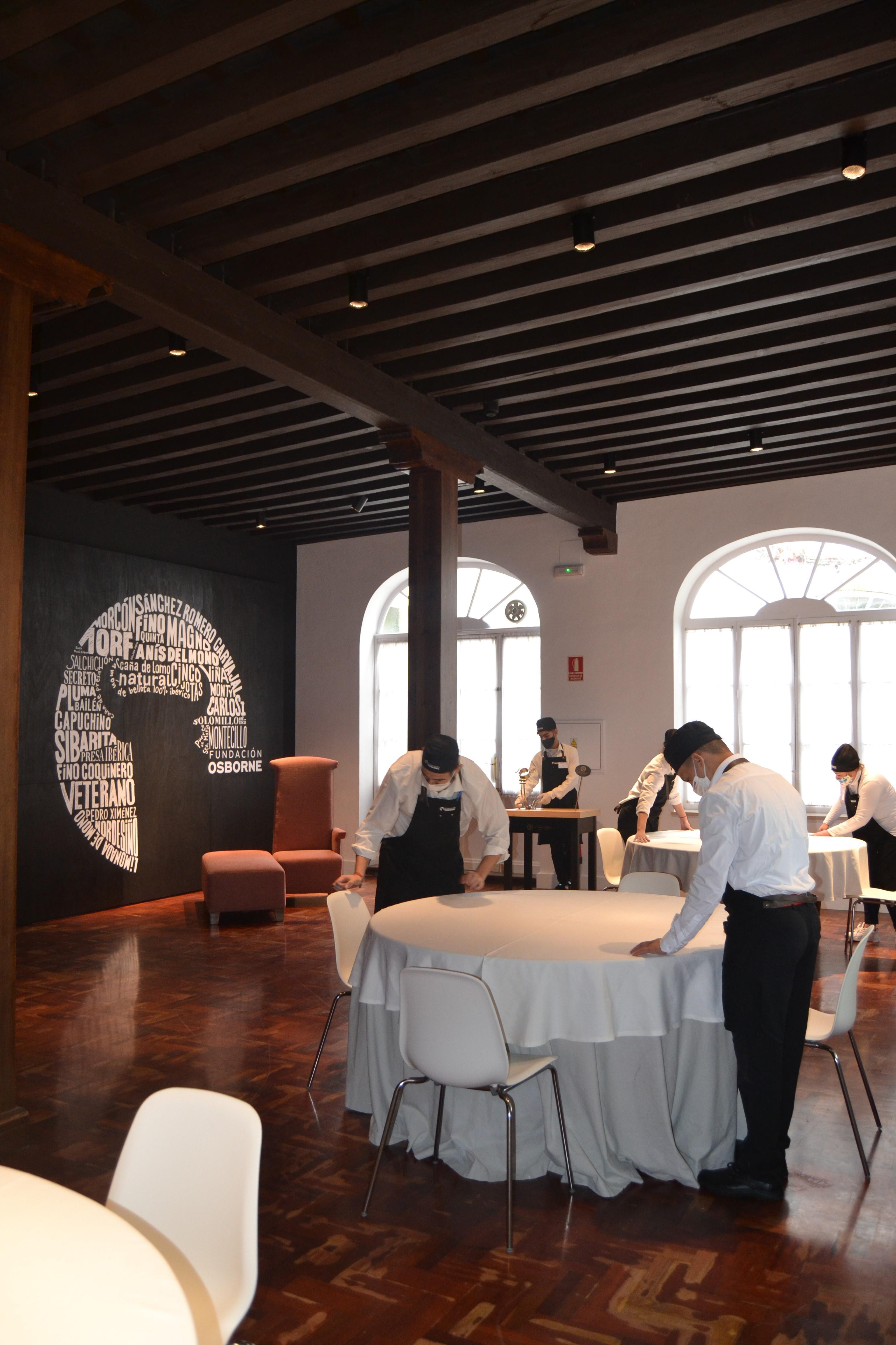 Inauguración Escuela Gastro Osborne