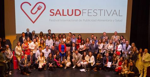 Foto de todos los premiados SaludFestival