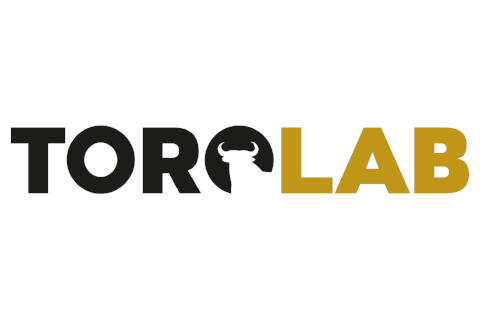 Logotipo negro y amarillo de la actividad ToroLab