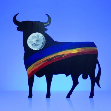 Pedro Duque_50 Aniversario Toro de Osborne