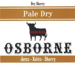 Dry Sherry (Pale Dry), Osborne, Jerez-Xeres-Sherry